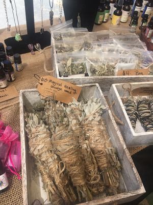 White sage, Cali sage, lavender and rosemary smudge sticks. Locally harvested for clearing negative energy from your space. for Sale in Poway, CA