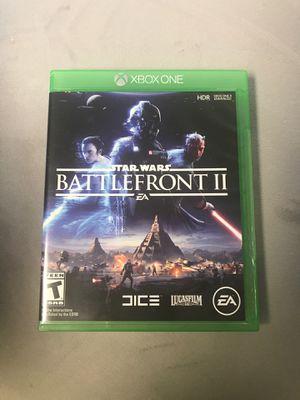 Star Wars battlefront 2 Xbox one for Sale in Alexandria, VA