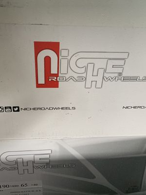 Mustang GT Niche Sport Rims for Sale in Fairview, OR