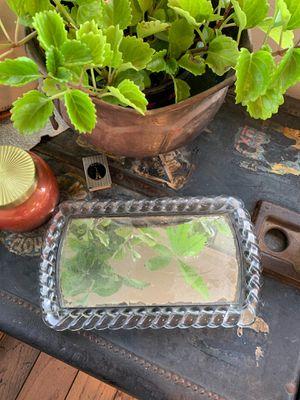 Vintage glass vanity tray irice for Sale in El Cajon, CA