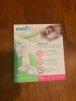 Evenflo Advanced Single Electric Breast Pump for Sale in Gaithersburg, MD