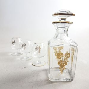 Baccarat Crystal Decanter and Snifters (1023280) for Sale in South San Francisco, CA