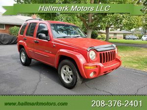 2002 Jeep Liberty Limited Limited 4dr for Sale in Boise, ID