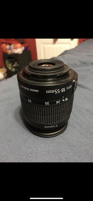 Canon DSLR Lens (18-55mm) for Sale in Conroe, TX