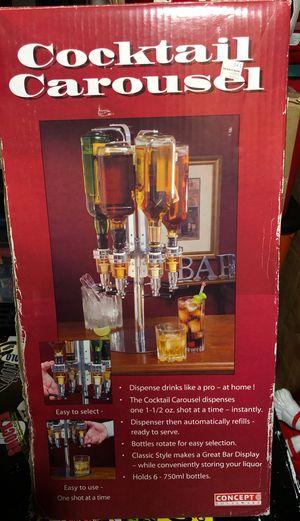 Free Home Bar 6 Bottle Dispenser for Sale in Abingdon, MD