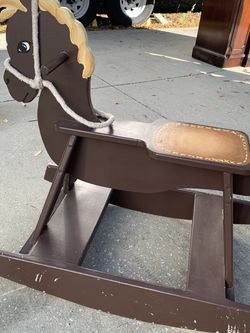 Wood Rocking Horse for Sale in DeLand,  FL