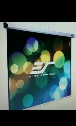Electric Projection Screen with Remote Excellent Condition for Sale in Phoenix, AZ
