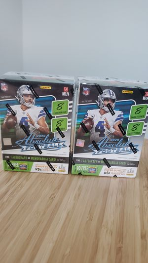 2020 Absolute Football Blaster boxes for Sale in Dallas, TX