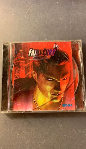 Fatal fury wild ambition playstation 1 ps1 for Sale in Orange, CA