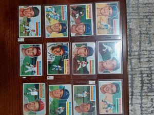 Lot of 28 1950s Topps Baseball Cards for Sale in Seattle, WA