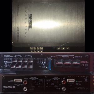 SSL Car Audio Amplifier for Sale in Modesto, CA