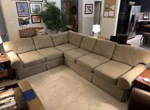 Fabric Sectional 2 Piece Couch / Sofa for Sale in Tempe, AZ