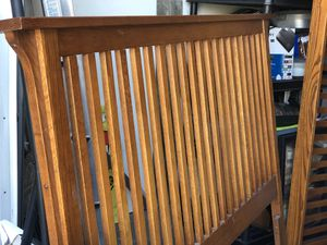 Solid Wood Queen Bed Frame for Sale in Temecula, CA