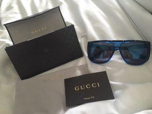 Gucci Blue Mirrored 59MM Sunglasses for Sale in Miami, FL