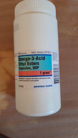 Omega 3-acid ethyl esters for Sale in McIntosh, NM