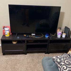 Tv Samsung 55 With the table for Sale in Stoughton, MA