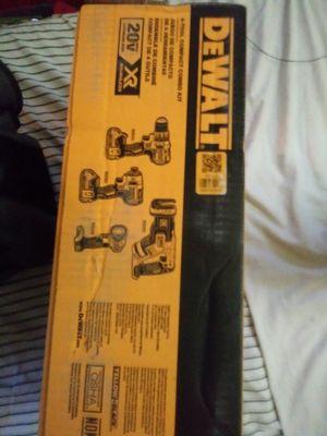 Dewalt 4 tool compact combo for Sale in San Antonio, TX