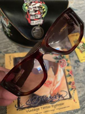 Limited edition collectible Ed Hardy sun glasses for Sale in Fairfield, CA