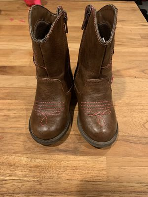 Toddler Girls Cowboy Boots for Sale in Hemet, CA