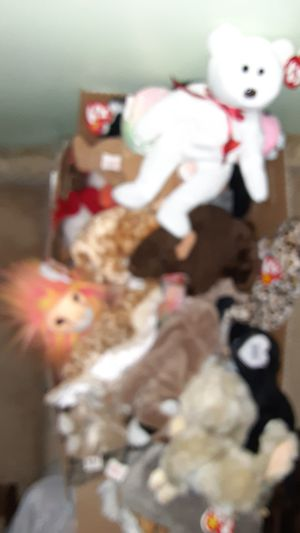 TY beanie babies 55 of them used/ like new for Sale in Howard, PA