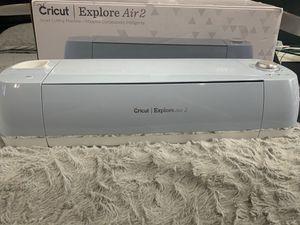 Cricut Explore air 2 for Sale in Irving, TX