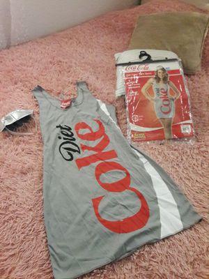 COSTUME. DRESS ,DisfrasesCOCA COLA.Halloween for Sale in Colton, CA