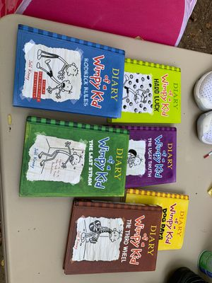 Hard Cover Diary of Wimpy Kid Series books for Sale in Cumming, GA