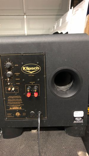 Klipsch KSW - 10 for Sale in Mesa, AZ