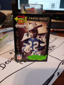 Emmit Smith Card Monsters Of The Grid Iron for Sale in Griffith,  IN