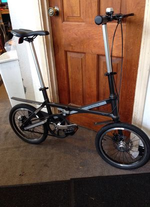 Air fold folding bike carbon frame 17 lbs for Sale in Portland, OR
