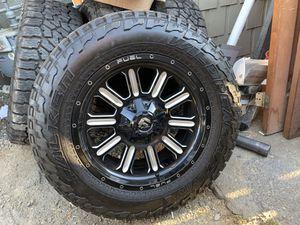 Fuel Wheels and Tires off Silverado 1500 for Sale in Montclair, CA