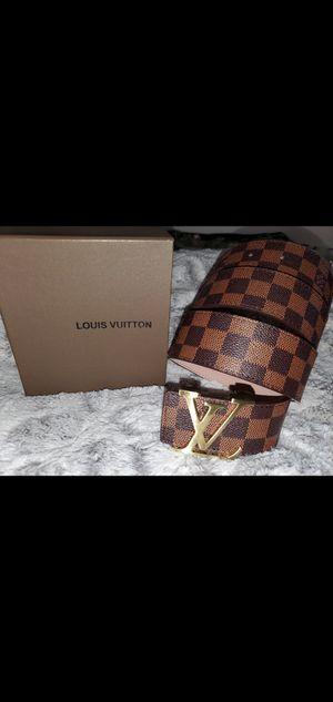 Designer Louis Belt Size 36/38 for Sale in Attleboro, MA