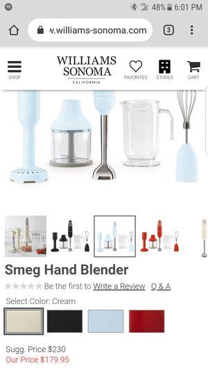 Smeg 50s Retro Style multi Hand Blender for Sale in Portland, OR
