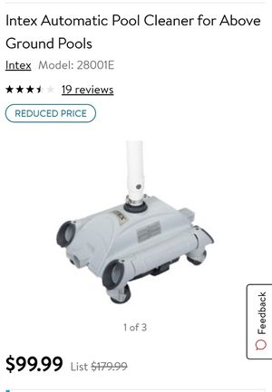 Intex pool cleaner for Sale in Tulare, CA
