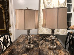 Two lamps for Sale in Raleigh, NC