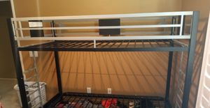 2 sets of bunk beds with bottom futon for Sale in Winchester, CA