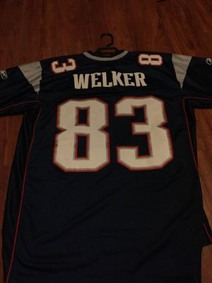 New England Patriots Welker 83 jersey for Sale in Fresno, CA