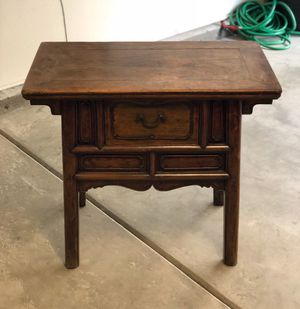 Xing dynasty antique bed side table, desk for Sale in Los Angeles, CA