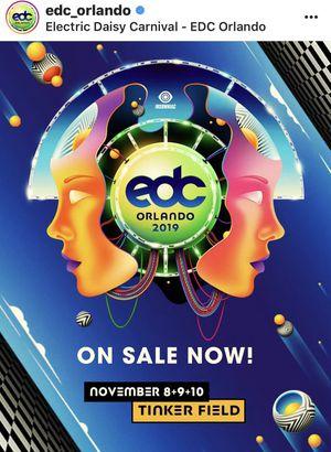 EDC Orlando 2019 for Sale in Los Angeles, CA
