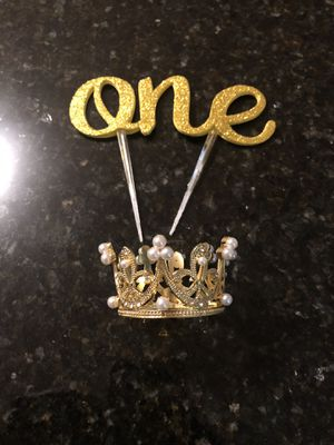 Cake topper for Sale in Streamwood, IL