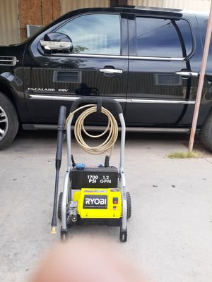 pressure washer electric 1700 PSI ..1.2 GPM RYOBI for Sale in Phoenix, AZ