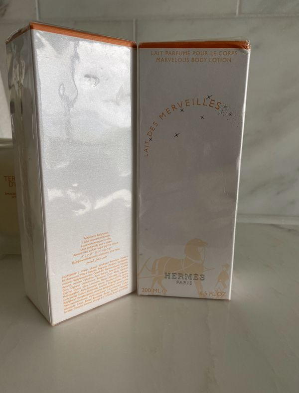 2 Women's Hermès Body Lotions left for sale!2 for 60$