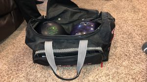 Bowling balls and bag for Sale in Ankeny, IA