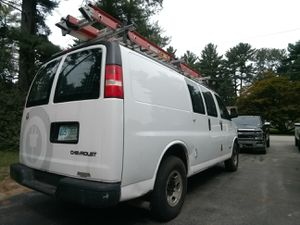 Chevy 2500 express van. Retiring contractor. Runs great, with shelving and ladders for Sale in Windham, NH
