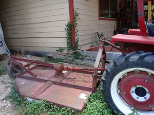 Tractor with mower for Sale in Natalia, TX