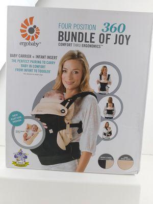 Ergobaby 360 Bundle of Joy 4 Position Baby Carrier - Black for Sale in San Bernardino, CA