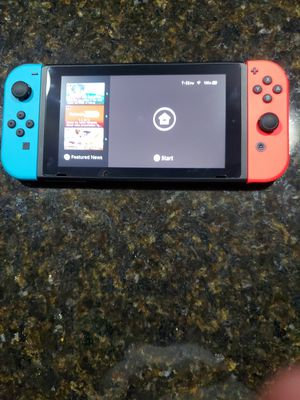 Nintendo Switch 32 GB Neon Red/Blue for Sale in Pawtucket, RI