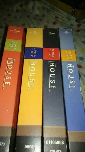 House Seasons 1 2 3 DVD Sets for Sale in Mystic Islands, NJ