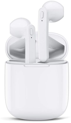 Bluetooth wireless Earbuds like AirPods WATERPROOF headset headphones with mic for Sale in Houston, TX