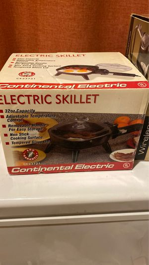 Electric skillet for Sale in Rockville, MD